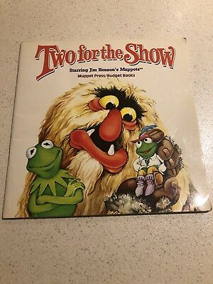 Two For The Show Starring Jim Henson's Muppets (1982 Paperback)