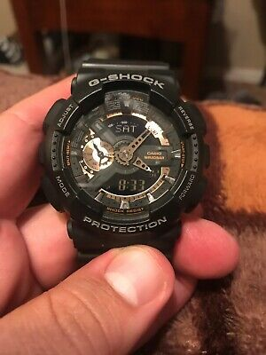 Men's Casio G-Shock model 5146 Classic Black and Gold X-Large Ana-Digi Watch