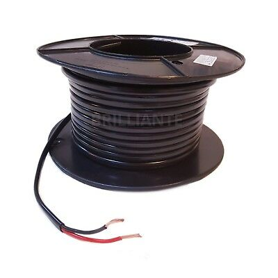 TWIN CORE 3mm 10M WIRE CABLE 16A CARAVAN TRAILER AUTOMOTIVE 12V 2 SHEATH