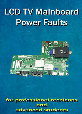 LCD/LED TV Mainboard Power Faults Repair Book PDF Fast Delivery