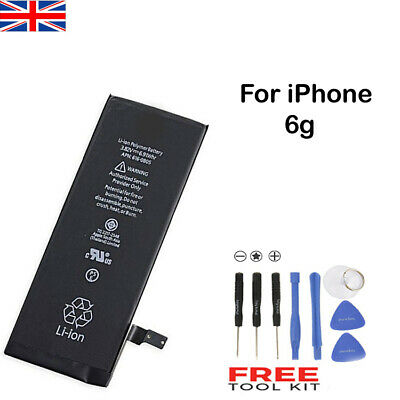 New Replacement Battery for iPhone 6 6G 1810mAh Full Capacity Free Tool UK