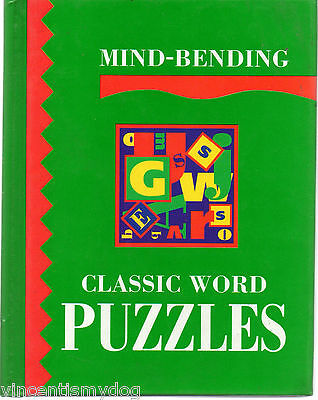 Mind-Bending Classic Word Puzzles by Lagoon Books (Hardback, 1995)