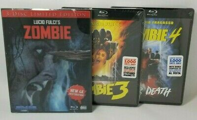 Lucio Fulci's Zombie Trilogy - Blu-ray - Limited Edition Inc. Slipcover