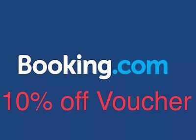 Booking.com 10% Off Voucher - No Purchase Necessary! Free To Use!