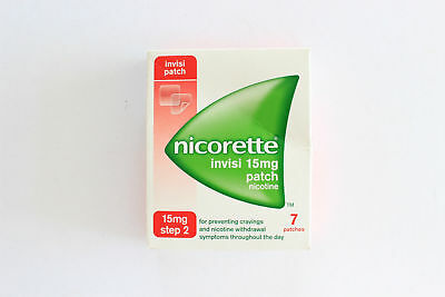 Nicorette Invisi Step 2 15mg Patch Nicotine - 7 Patches