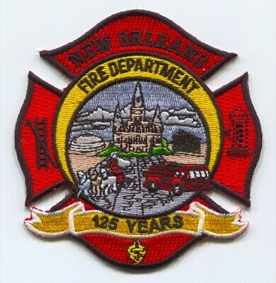 New Orleans Fire Department Engine 29 Patch Louisiana LA v3