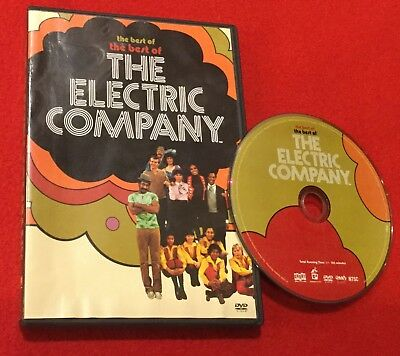 The Best of the Best of The Electric Company (DVD, 2006) Morgan Freeman