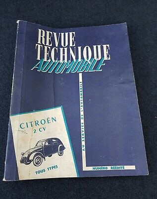 Revue Technique Automobile Citroën 2Cv