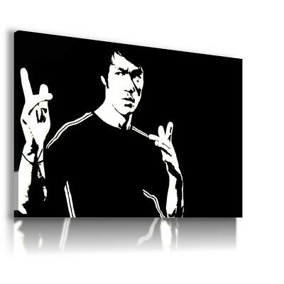 BRUCE LEE Martial Arts Instructor Philosopher Canvas Wall Art Picture BL7 MATAGA