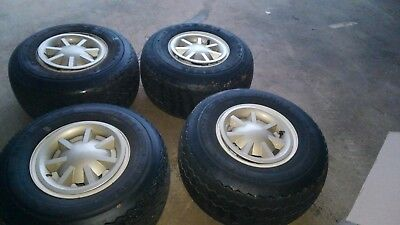 Kenda Used Tire and Wheels (SET OF 4) 18x8.5-8 Golf Cart
