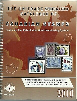 2010 Unitrade Specialized Catalogue of Canadian Stamps