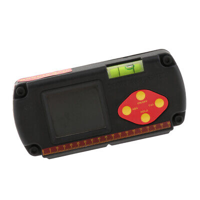 Digital Protractor Spirit Level Finder Inclinometer Angle Ruler LCD Display