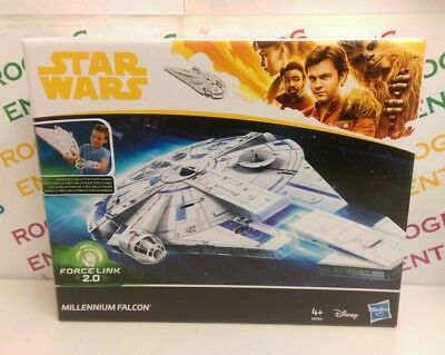 Disney Hasbro Star Wars Force Link 2.0 Millennium Falcon w. Escape Craft - NEW