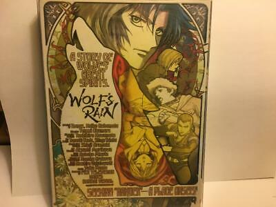 Wolf's Rain Story of Wolves Great Spirits DVD 3 disc set 26 Episodes