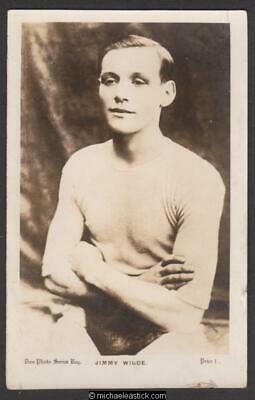 Jimmy Wilde Welsh Boxer Don Photo Series Photo Postcard