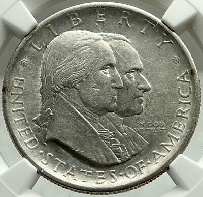 1926 AMERICAN INDEPENDENCE Commemorative US Silver Half Dollar Coin NGC i75989