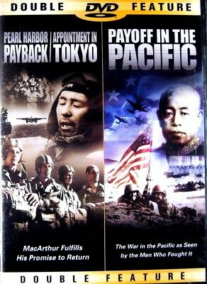 Pearl Harbor Payback/Appointment In Tokyo/Payoff In Pacific WWII New DVD FreeShp