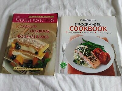 2 Weight Watchers Cook Books