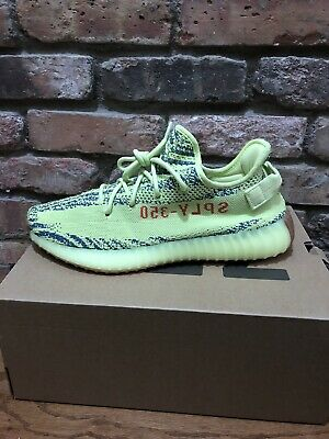 be29c32a6d65e ADIDAS YEEZY BOOST 350 V2 Semi Frozen Yellow size 11 100% Authentic ...
