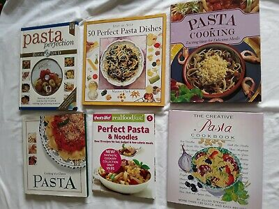 10 PASTA COOK BOOKS Bulk Lot!