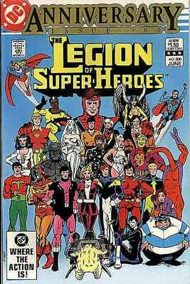 Legion of Super-Heroes (1980 series) #300 in NM minus condition. DC comics [*k7]
