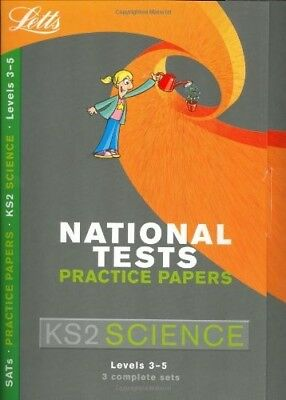 Letts Key Stage 2 Practice Test Papers - Science, Jackie Clegg, Very Good Book