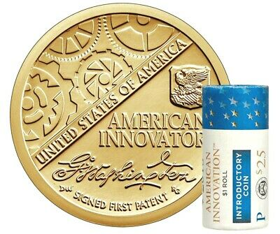 2018 P 1 Coin -American Innovation Golden Dollars Best Grade $1 Coins INTROD...