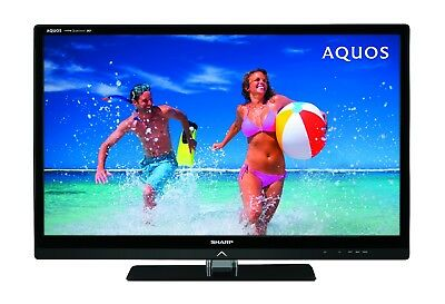 """Sharp LC40LE835X Aquos 200Hz 40"""" LED Television with new Glass Stand"""