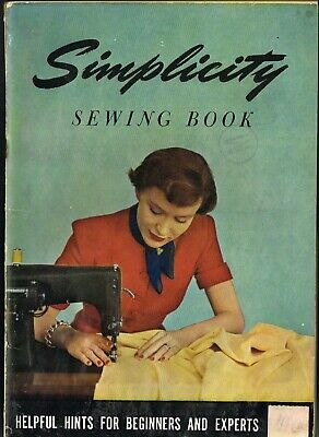 Vintage 1947 Simplicity Sewing Book