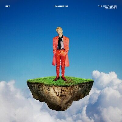 KEY SHINee - I Wanna Be CD+Photocard+Folded Poster+Free Gift+Tracking no.