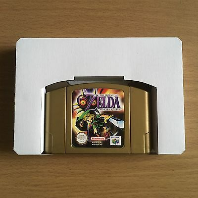 2 x NINTENDO 64 CARTRIDGE INSERT TRAY / GAME BOX INSERT. SECURE POSTAGE. N64.