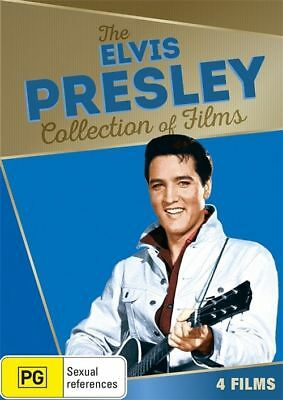 The ELVIS PRESLEY Collection Of Films DVD 4-MOVIES 60's NEW R4