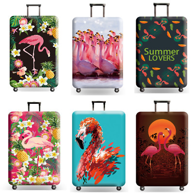Flamingo Elastic Travel Luggage Suitcase Protector Dustproof Cover Fit 18-32inch