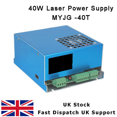35-50W Co2 Laser Cutter Power Supply Myjg-40T K40 Cloudray Ps06Zm40G2