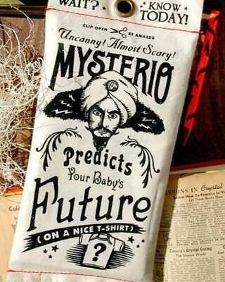 Mysterio Predicts Baby Tee Shirt Novelty Baby Shower Gift Predict The Future Fun