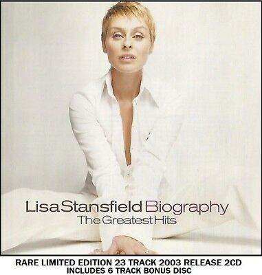 Lisa Stansfield - The Very Best Greatest Hits Collection 80's 90's Soul Pop 2CD