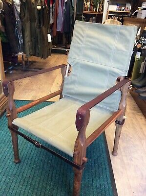Melville and Moon Roorkhee Campaign Chair BRAND NEW
