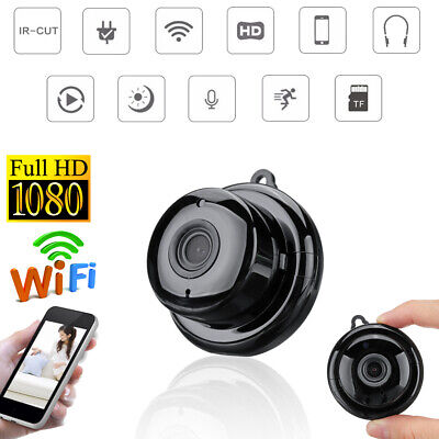 Wifi Camera Mini Telecamera 1080P Hd 180° Wifi Ip Spia Security Night Vision