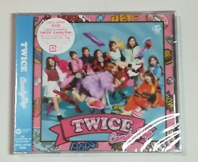 TWICE Candy Pop ONCE JAPAN Limited CD + 9 Jackets NEW