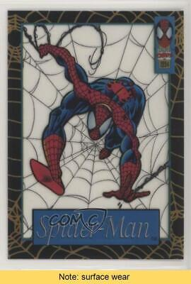 1994 Fleer Marvel Cards The Amazing Suspended Animation #7 Spider-Man READ 5xh