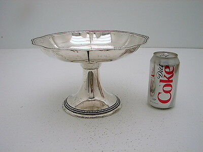 "Large German Sterling Silver Center Piece Bowl Wilkens 10"" wide 16.4oz"