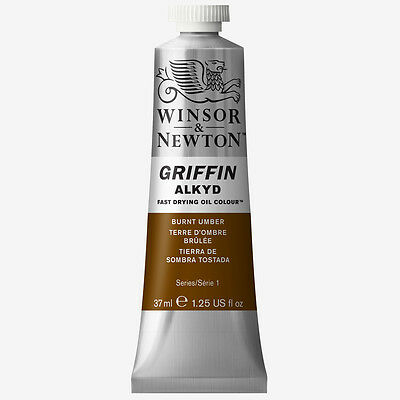 Griffin Alkyd Oil Paint 37ml Burnt Umber
