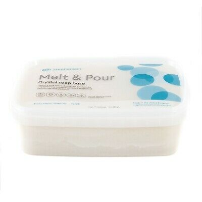Melt & Pour Soap Base - Oatmeal & Shea Butter - 10Kg (SOAP10KOATMSHEA)