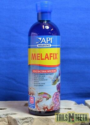 API Marine Melafix 473ml - Heals Bacterial Coral/Fish Infections - All Natural