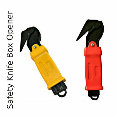 Moving Edge Safety Knife Box Opener Tape Cutter Seat Belt Cutter Shrink Wrap