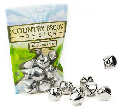 10 - Country Brook Design® 1 1/4 Inch Jingle Bells