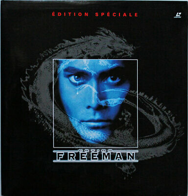 Rare Laser Disc Crying Freeman Edition spéciale  contien 2 Laser Disc comme neuf