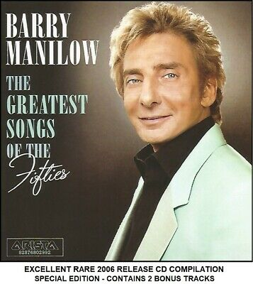 Barry Manilow - Very Best Essential Greatest Fifties Hits Collection - RARE CD