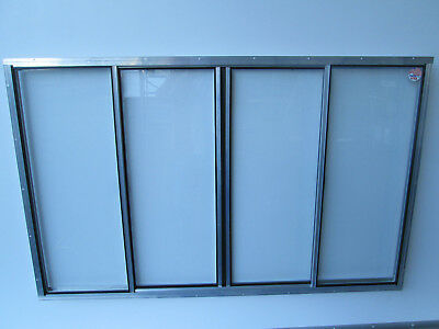 "40"" X 64"" Concession Window Glass"