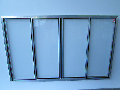 "40"" X 74"" Concession Window Glass"